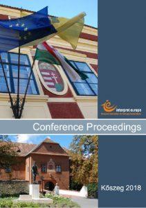 IE Koszeg 2018 proceedings