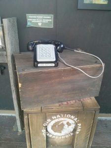 Land of the Lions interactive telephone exhibit