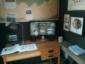 Land of the Lions interactive computer exhibit