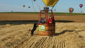 Marie Banks hot air balloon pilot