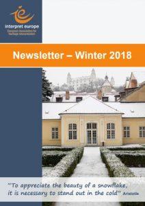 IE Newsletter Winter 2018
