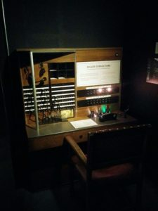 Hidden London 1940s telephone exchange exhibit