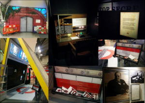 Hidden London exhibition montage