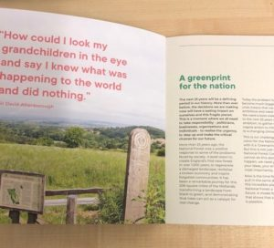 National Forest greenprint inside page_Attenborough quote