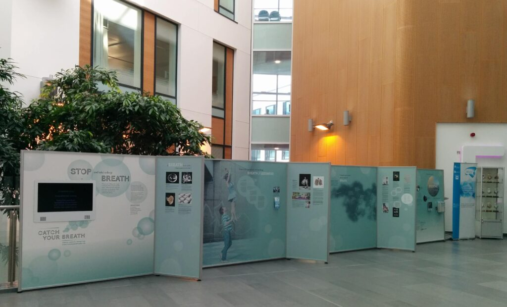 Catch Your Breath exhibition at Southmead Hospital, Bristol
