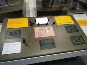 LTM bomb raid shelter ticket interactive exhibit